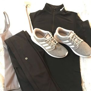 Adidas Light Grey Sneakers!